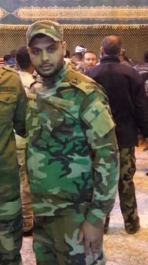 """حركة النجباء تزف شهيدها المجاهد """" سامر علي منصور العيساوي """""""